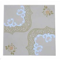Azulejo Palmasa 15 x 15 Decorado Ref. 015 Museu do azulejo