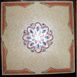 Piso Porto Ferreira 20x20 Ref. 732 Museu do Azulejo