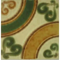 Azulejo fora de linha Decorado Porto Ferreira15x15 Ref. 038 Museu do Azulejo