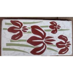 Azulejo fora de linha Ceramus Bahia 11x22 Ref. 866 Museu do Azulejo