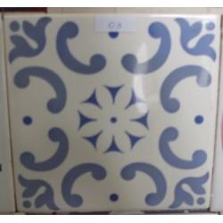 Azulejos Brilho Cerâmica 15x15 Fora de Linha Ref. 841 Museu do Azulejo