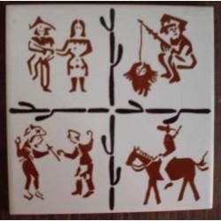 Azulejos Antigos para Mosaícos Ref. 279 Museu do Azulejo