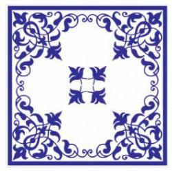 Azulejos antigo fora de linha Azulejo Decoração Especial Ref. 887