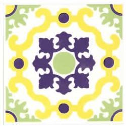 Azulejos antigo fora de linha Azulejo Decoração Especial Ref. 908