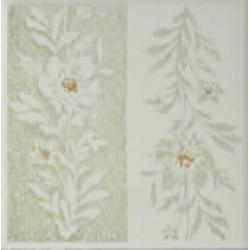 Azulejo fora de linha Decorado Klabin 15x15 Ref. 021 Museu do Azulejo