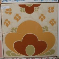 Azulejos Brilho Cerâmica 15x15 Fora de Linha Ref. 844 Museu do Azulejo