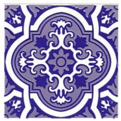 Azulejos antigo fora de linha Azulejo Decoração Especial Ref. 888