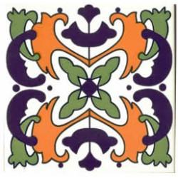 Azulejos antigo fora de linha Azulejo Decoração Especial Ref. 910