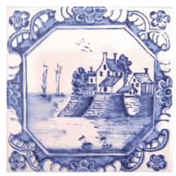 Azulejos antigo fora de linha Azulejo Decoração Especial Ref. 894